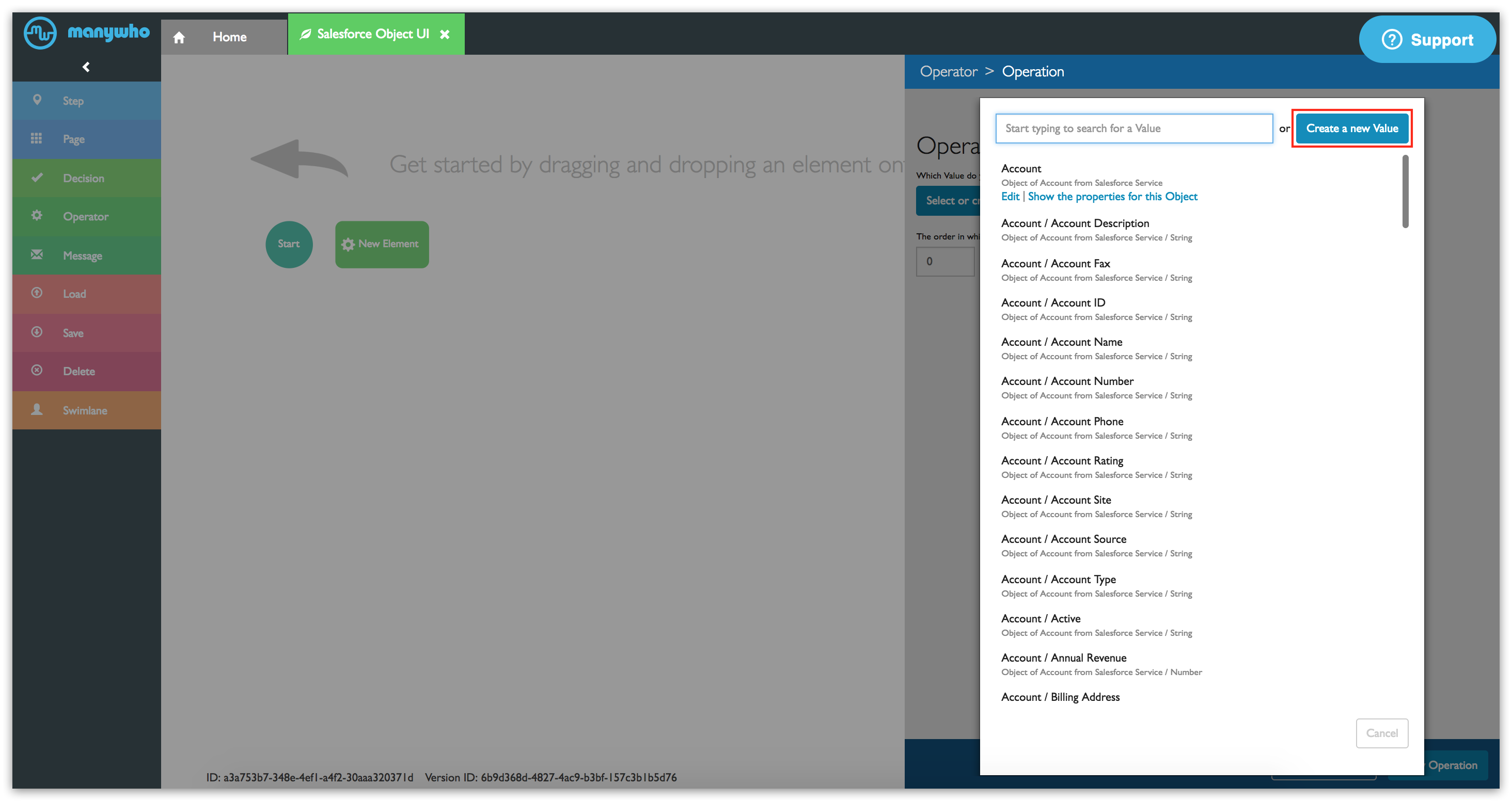 Tutorial: Using flows as Salesforce records - Boomi Flow