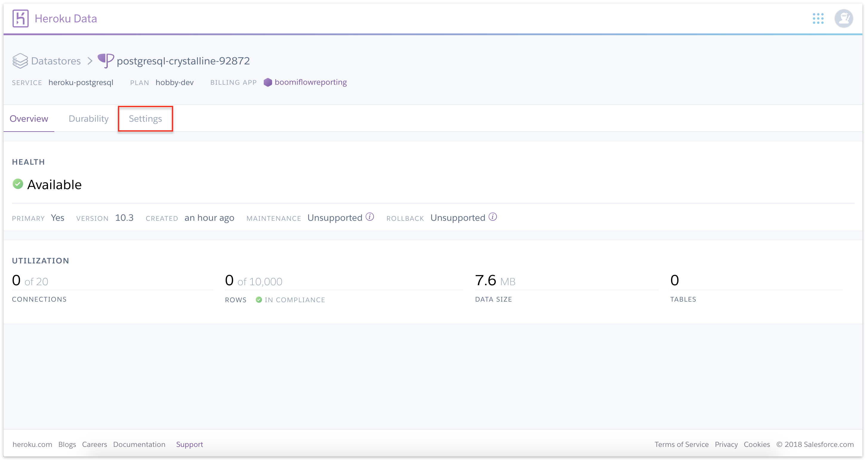 Recipe: Implementing Flow reporting on Postgres - Boomi Flow